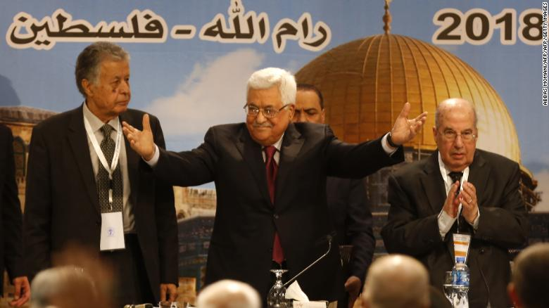 Palestinian leader apologizes for speech condemned as anti-Semitic