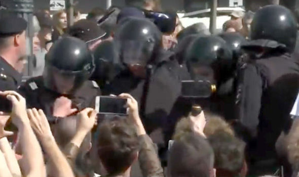 Russia protests: Anti-Putin demonstrators take to the streets - 'he is NOT our Tsar'