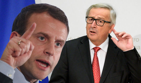Macron ENRAGED as English set to be MAIN language in EU after Brexit