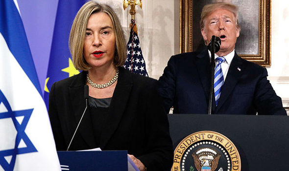 Iran nuclear deal: Donald Trump sends EU into a PANIC with decision to pull US from pact
