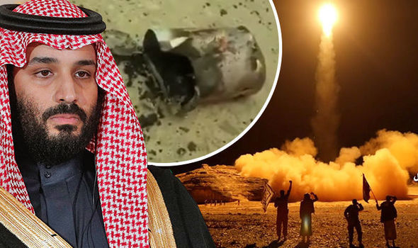 MIDDLE EAST CRISIS: Saudi Arabia ATTACKED as countrys air defence intercepts TWO missiles