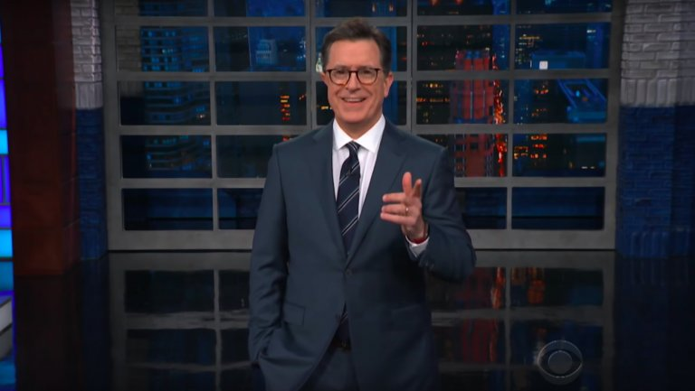 Stephen Colbert Hits Back at Hateful Dweebs Who Harassed Star Wars Actress