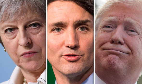 Donald Trump REFUSES to sign G7 agreement before BLASTING Theresa May and Justin Trudeau