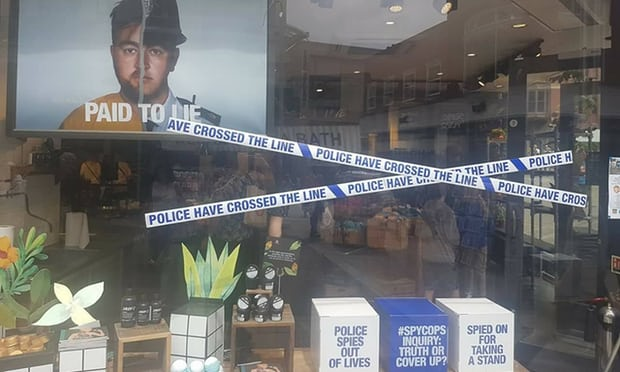 Cosmetics retailer Lush criticised by police over spycops ad campaign