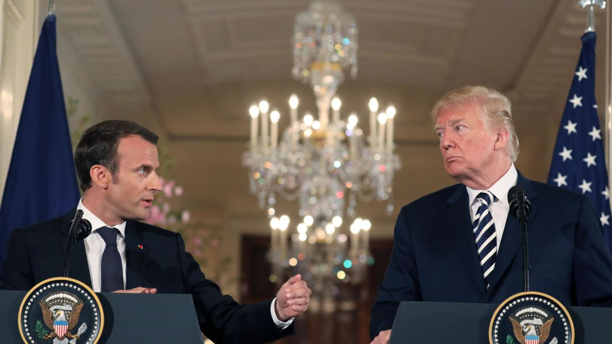 Trump told Macron EU worse than China on trade