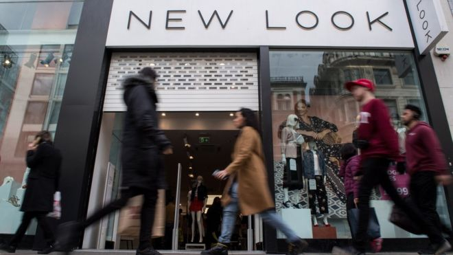 New Look slashes prices amid sharp fall in annual sales