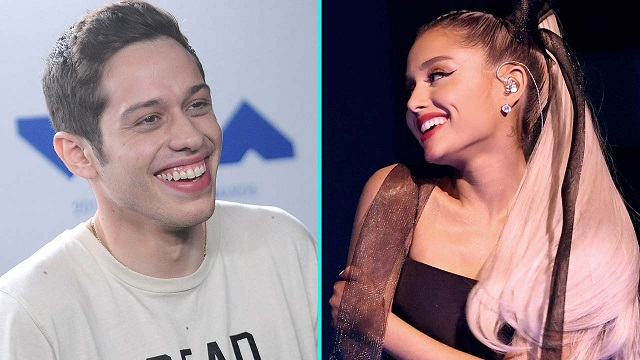 Ariana Grande & Pete Davidsons Relationship Moving a Million Miles a Minute