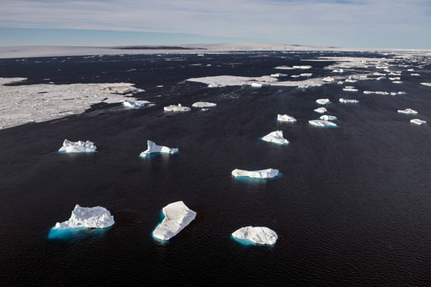 Antarctic ice melting faster than ever, studies show