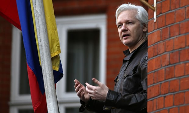 Ecuadors president says Julian Assange can stay in embassy with conditions