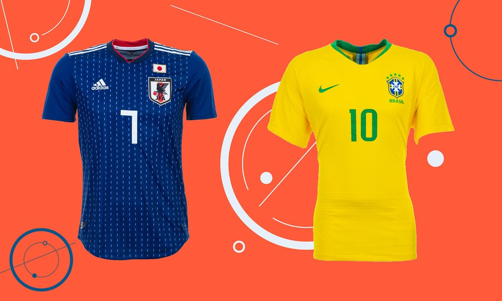 Fashion's first 11: which is the most stylish World Cup kit?