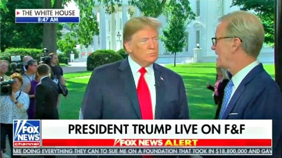 Trump praises Kim on Fox & Friends: I want my people to do the same