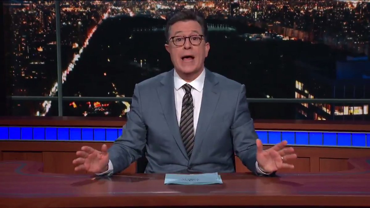 Stephen Colbert Offers Scathing Takedown Of Trump's Immigration Policy