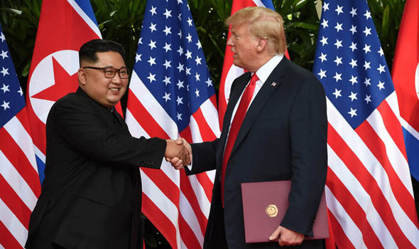 Trump up for Nobel Peace Prize after Kim summit