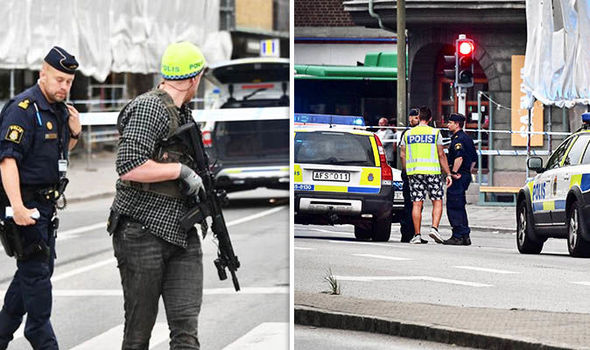 Malmo shooting: Swedish police warn several injured in city centre attack