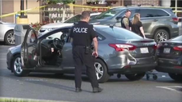 Gunman wounds 2, is fatally shot by bystander at Walmart store