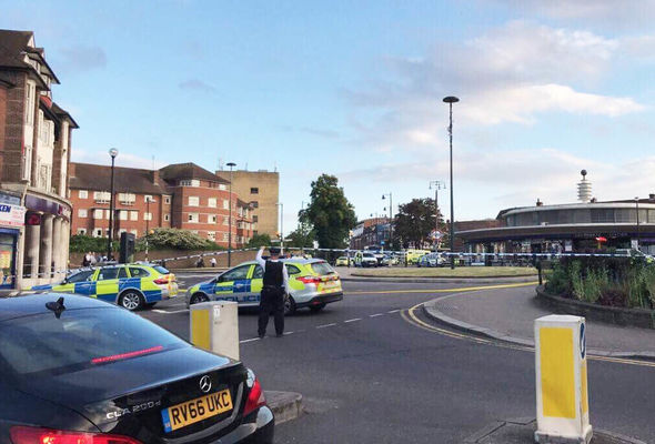 Southgate tube station LOCKDOWN: Several injured in explosion - Police surround scene