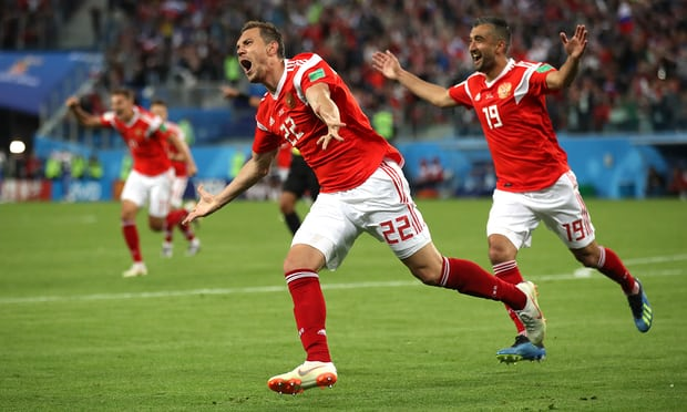 Artem Dzyuba secures second win for Russia with victory over Egypt