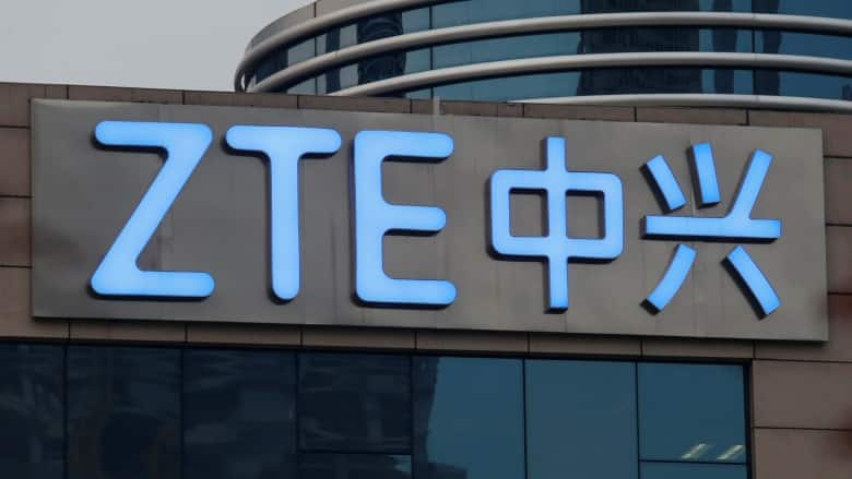 ZTE stock drops more than 20% after US Senate pushes to keep ban
