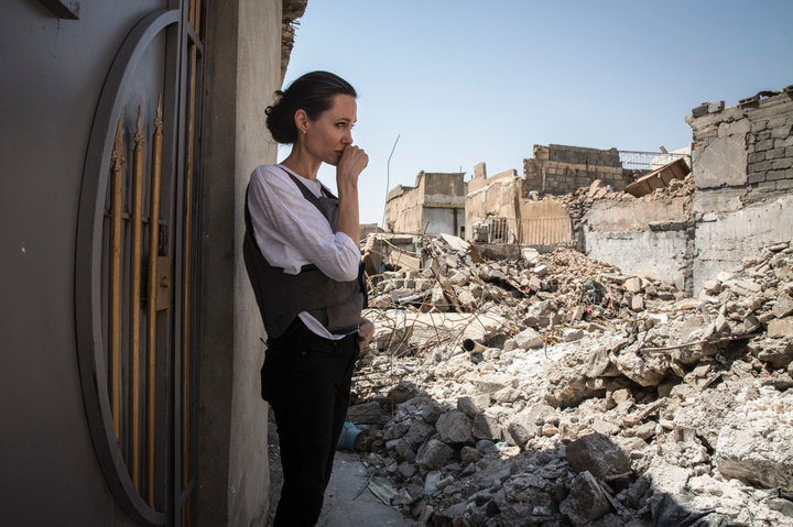 Angelina Jolie: We Must Not Forget The People Of Mosul