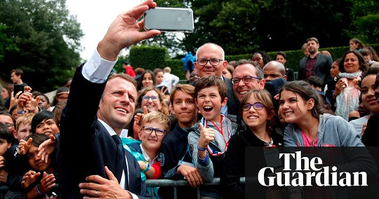 Call me Mr President': Emmanuel Macron scolds teenager