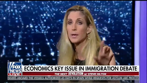 Ann Coulter Is Reamed On Twitter For Calling Immigrant Kids 'Child Actors'