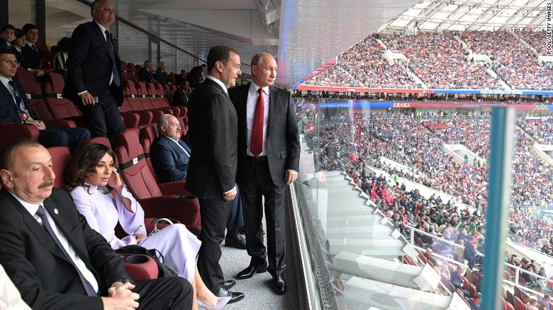 Amid the World Cup, Vladimir Putin scores some diplomatic goals
