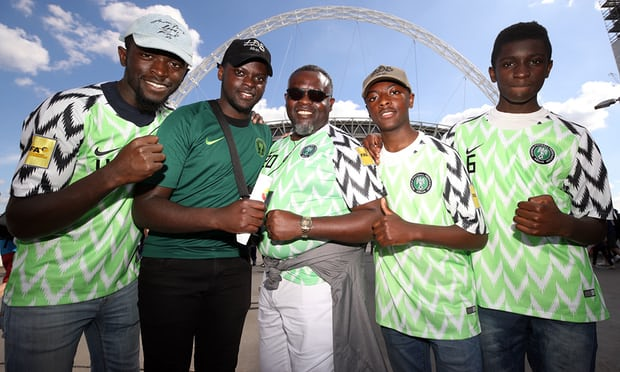 Nigeria World Cup football shirts capture public imagination