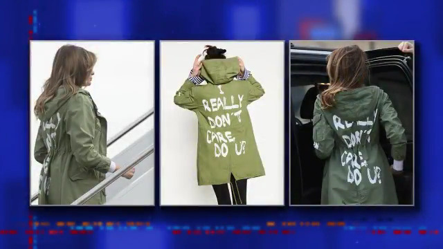 Colbert Mocks Melania's Jacket: Was 'Womp Womp' Your First Choice?