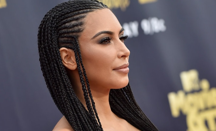 Kim Kardashian Tries To Defend Wearing Fulani Braids Again