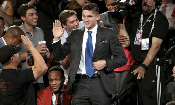 Utah Jazz select Grayson Allen with 21st pick