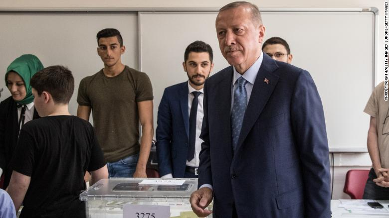 Turkey elections: Erdogan ahead in early results