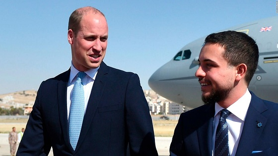 Prince William starts historic Middle East tour
