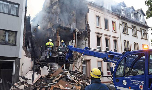 GERMANY EXPLOSION: At least 25 injured in blast sparking multiple fires