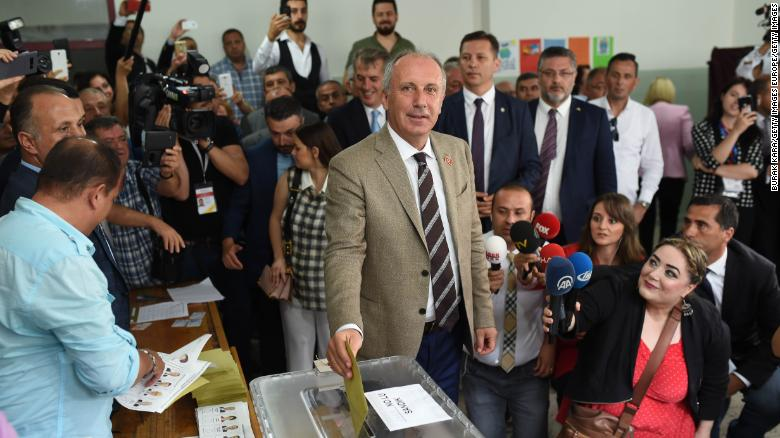 Erodgan declares victory in Turkey presidential election