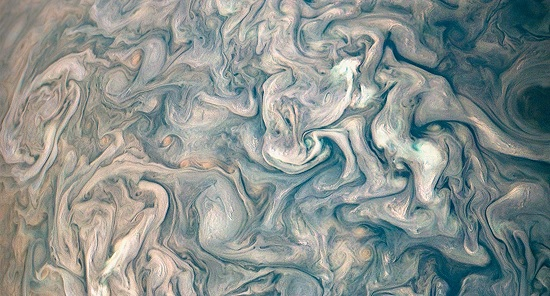NASAs stunning new photo of Jupiter looks like a work of art