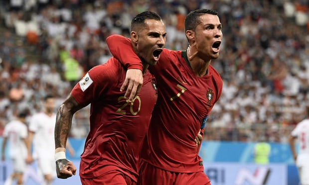 Iran so close to stunning Portugal but Quaresma goal enough for draw