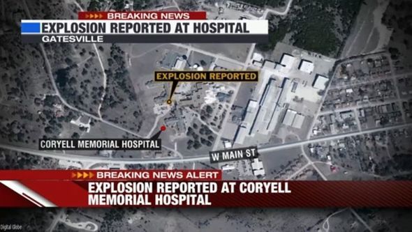 Huge EXPLOSION at Texas Hospital - building collapse leaves one dead and a dozen injured
