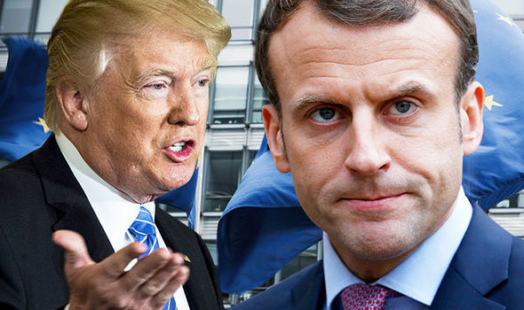 FREXIT? Donald Trump told Macron to pull France out of EU in return for US trade deal