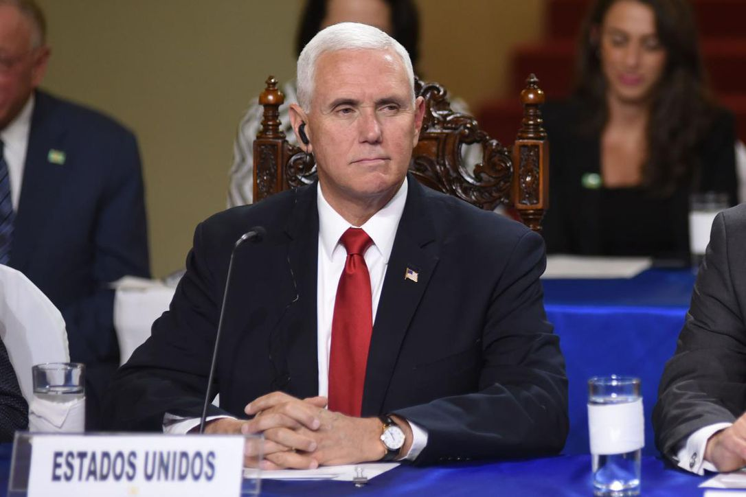 Pence tells Central American leaders that illegal immigration to U.S. 'must end'