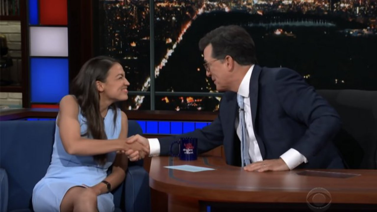 Alexandria Ocasio-Cortez Breaks Down Viral Reaction to Democratic Primary Win