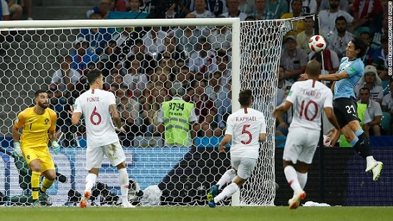 Cristiano Ronaldo's World Cup ends as Uruguay beats Portugal