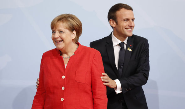 United States of Europe moves CLOSER as Angela Merkel backs Emmanuel Macron EU reforms
