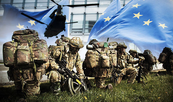 Britain now the enemy? Brussels boots out UK military – UK no place in defence of Europe