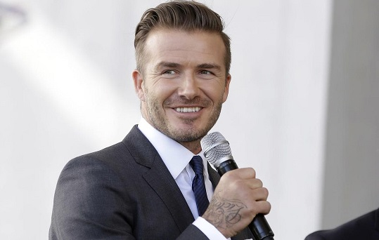 David Beckham endorses North America World Cup bid