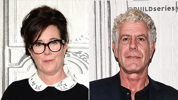 Kate Spade and Anthony Bourdain: How the press can cover suicide without creating a contagion