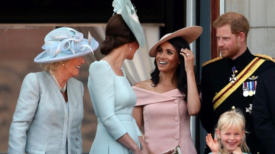 Meghan Markle attends annual Trooping the Colour parade, makes Buckingham Palace balcony debut