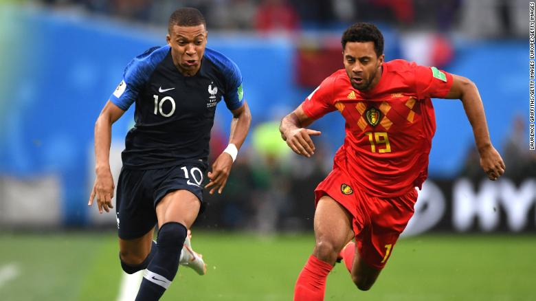 France beat Belgiums golden generation to reach World Cup final