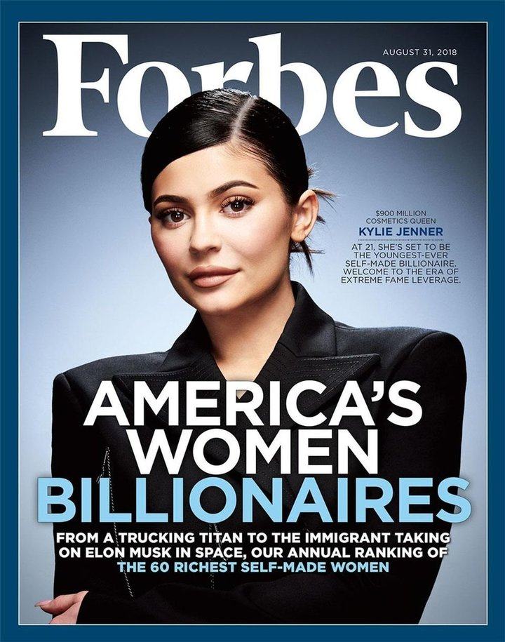 Kylie Jenner Covers Forbes As The Next Youngest Self-Made Billionaire Ever