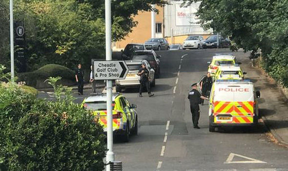 Stockport shooting: One in hospital, gunman on the run