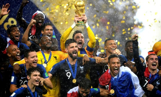 France beat Croatia to win its second World Cup title.